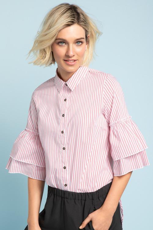 Emerge Ruffle Cuff Shirt