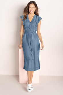 Emerge Button Front Dress