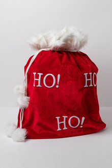 Velvet Santa Sack