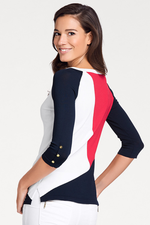 Heine Colourblock Sweater