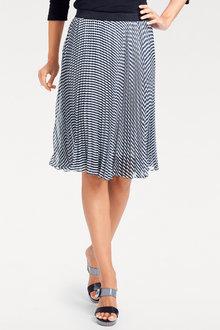 Heine Printed Plisse Skirt