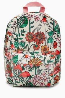 Next Floral Rucksack