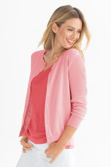 Capture Classic Crew Neck Cardigan - 203924