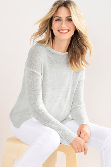 Capture Ribbon Yarn Crossback Jumper