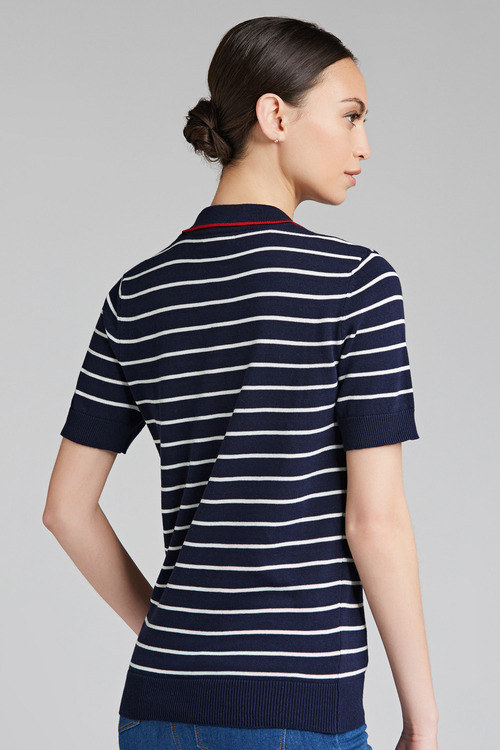 Capture Superfine Knitted Polo