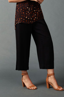 Grace Hill Straight Cropped Pants - 203961