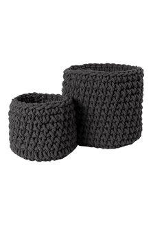 Crochet Basket Set of 2