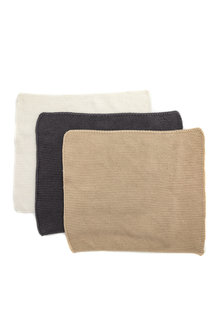 Knitted Cloth Set of 3