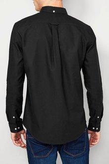 Next Black Long Sleeve Oxford Shirt