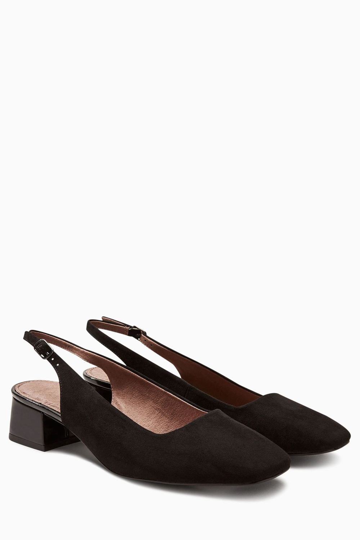 f4ca46e293c Next Square Toe Slingback Court Shoes Online