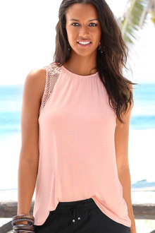 Urban Lace Detail Tank