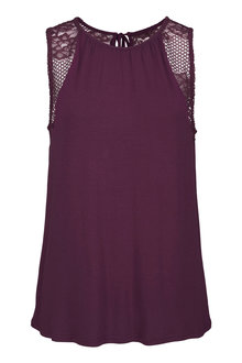 Urban Lace Detail Tank - 204098