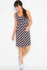 Urban Stripe Pocket Dress