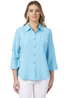 Noni B Pocket Detailed Top - 204110