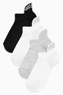 Next Cushioned Reflector Trainer Socks Three Pack (Older Girls)