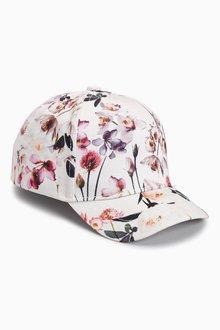 Next Floral Print Cap (Older Girls)