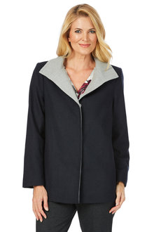 Noni B Samantha Coat Plain