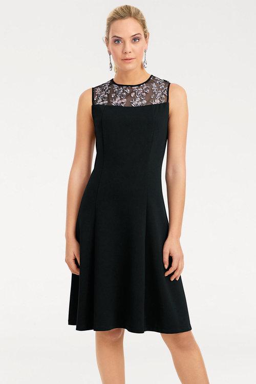 Heine Lace Detail Princess Dress