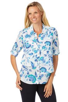 Noni B Elizabeth Shirt Printed - 204158