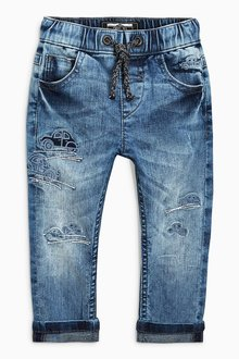 Next Car Embroidered Jeans (3mths-6yrs)