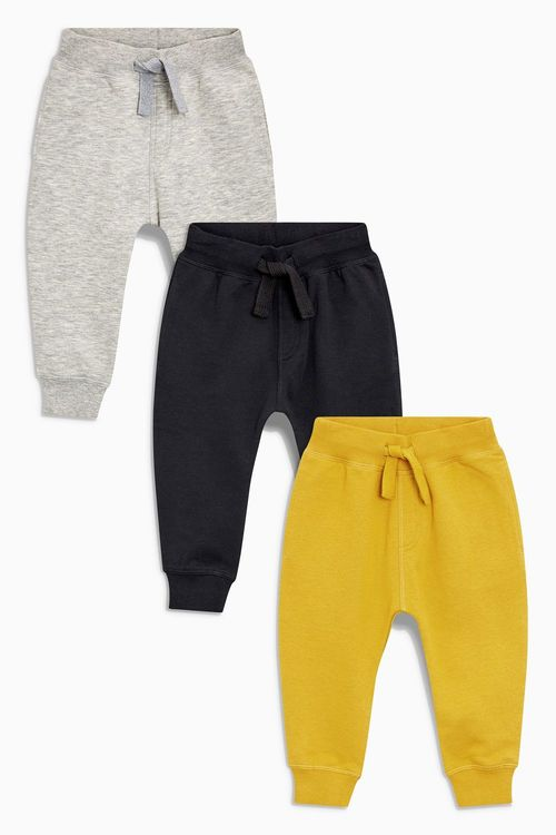 Next Essential Joggers Three Pack (3mths-6yrs)