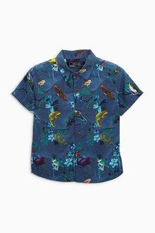 Next All Over Print Shirt (3mths-6yrs)