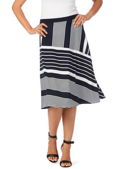 Noni B Sara Skirt Printed