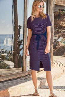 Next Stripe Dress - Tall