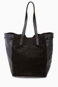 Next Leather Shopper Bag