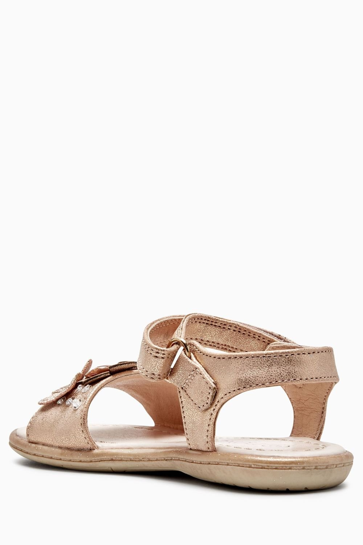 337391331a16 Next Rose Gold Embellished Sandals (Younger Girls) Online