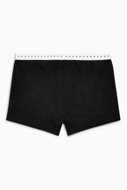 Next Black Modesty Shorts Three Pack (3-16yrs)