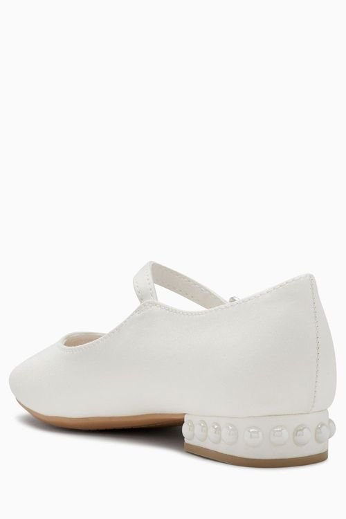 Next Pearl Heel Mary Jane Shoes (Older Girls)