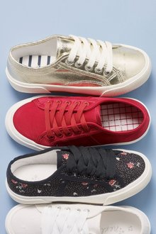 Next Ribbon Lace-Up Trainers (Older Girls)