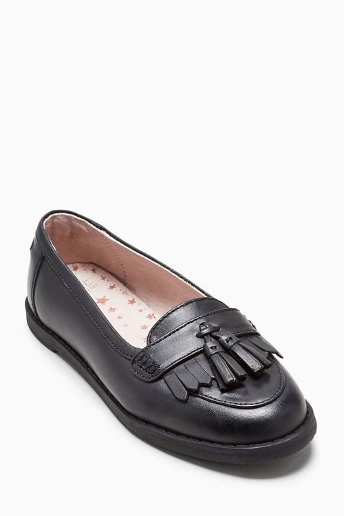 Next Tassel Loafers (Older Girls) - Wide Fit