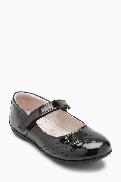 Next Star Mary Jane Shoes (Older Girls) - Wide Fit