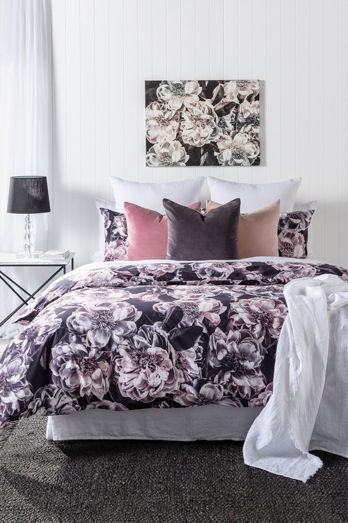 Albertine Floral Duvet Cover Set