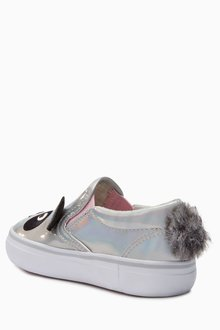 Next Panda Skate Shoes (Younger Girls)