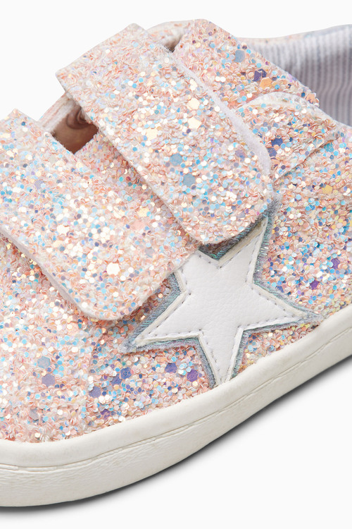 Next Touch Fastening Star Trainers (Younger Girls)