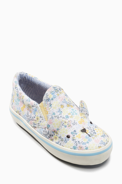 Next Print Bear Skate Shoes (Younger Girls)