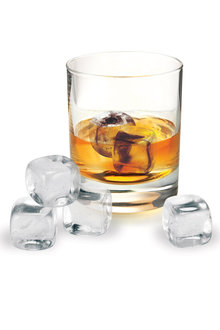 Avanti Quartz Crystal Whiskey Rocks Set of 6