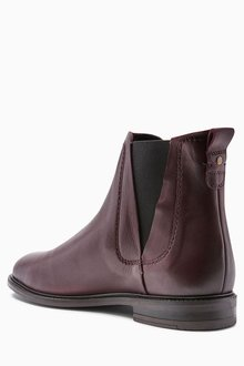 Next Leather Casual Chelsea Boots