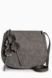 Next Flower Charm Saddle Bag - 204545