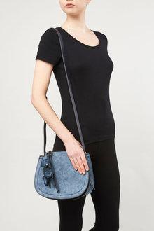 Next Small Flower Charm Saddle Bag