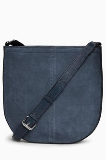 Next Leather Saddle Bag