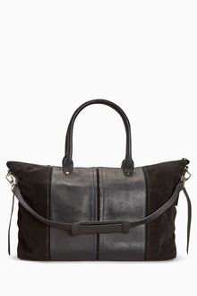 Next Leather Holdall Bag