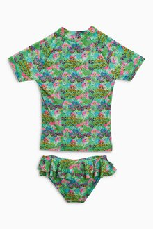 Next Floral Sunsafe Two Piece Set (3-16yrs)