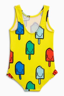 Next Yellow Ice Lolly Swimsuit (3mths-8yrs)
