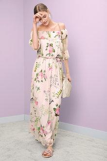 Heine Floral Maxi Dress - 204649