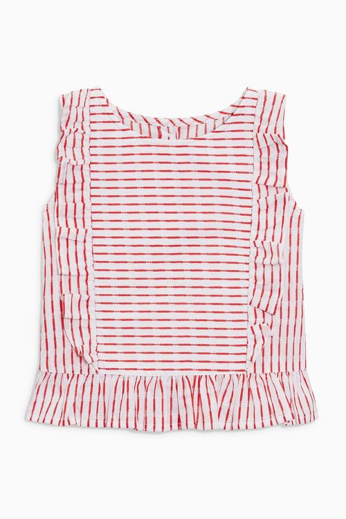 Next Stripe Frill Blouse (3mths-6yrs)