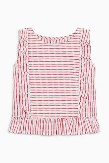 Next Stripe Frill Blouse (3mths-6yrs)